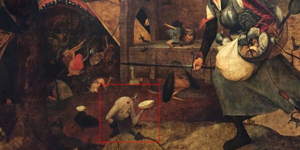 悪女フリート絵画内のいかにも小物ぽい魔物
